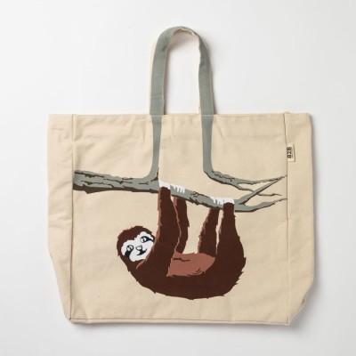 Sloth Tote Shoulder Bag Image