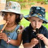 Summer Bucket Hat Woodland Friends Image