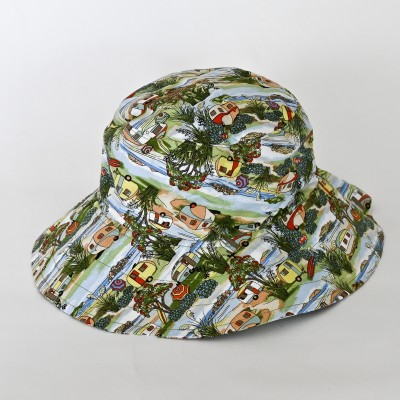Summer Bucket  Camping Hat Image