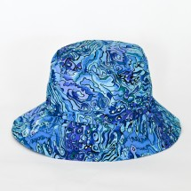 Summer Bucket  Hat Paua Design