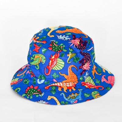 Summer Bucket Hat Dinosaurs Image