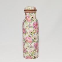 Copper  Floral Water Bottle 750 ml