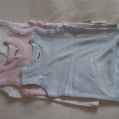 Snooky Bamboo Baby Singlets Image