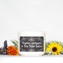 Tea tree, Thyme and Oregano Balm
