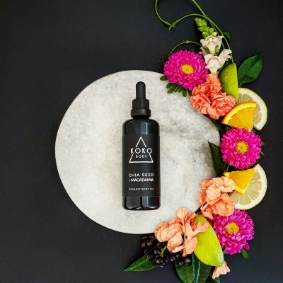 Chia Seed + Macadamia Organic Body Oil Image