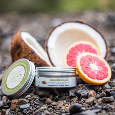 """Pinky Citrus Coconut Splash"" – Whipped Body Butter Image"