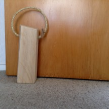 Macrocarpa Door Stop 3