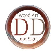 DD Wood Art and Signs Logo