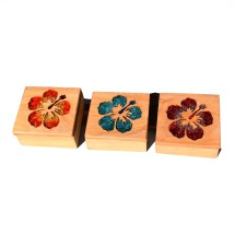Macrocarpa Hibiscus Flower Jewellery Box