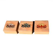 Macrocarpa Lotus Flower Jewellery Box