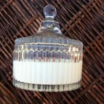 Crystal glass candle -Basic