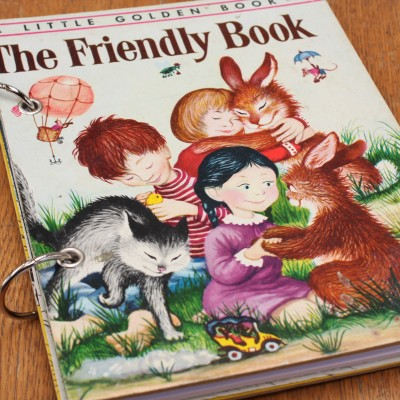 The Friendly Book Refillable Notebook Image