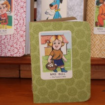 Handy Pocket Notebook -Mrs Bull