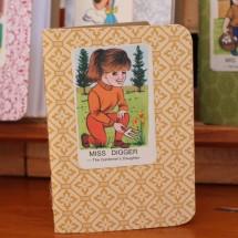 Handy Pocket Notebook -Miss Digger