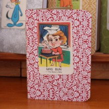 Handy Pocket Notebook -Mrs Bun