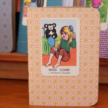 Handy Pocket Notebook - Miss Comb