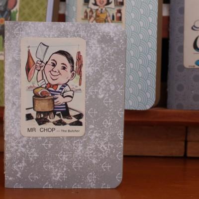 Handy Pocket Notebook – Mr Chop Image