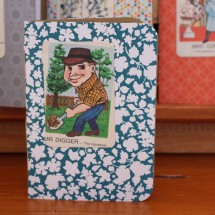 Handy Pocket Notebook -Mr Digger