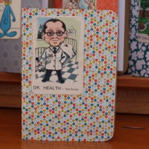 Handy Pocket Notebook -Dr Health