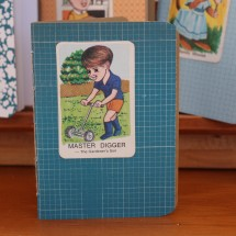 Handy Pocket Notebook -Master Digger