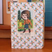 Handy Pocket Notebook -Mrs Digger