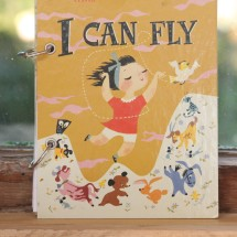 I Can Fly  Refillable Notebook
