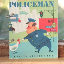 The little Fat Policeman Refillable Notebook