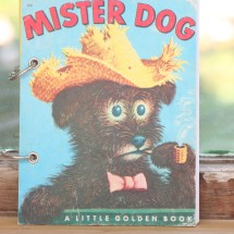 Mister Dog  Refillable Notebook
