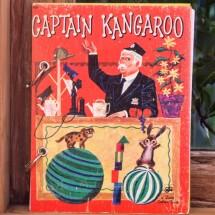 Captain Kangaroo  Refillable Notebook