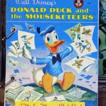 Donald Duck and the Mouseketeers Refillable Notebook