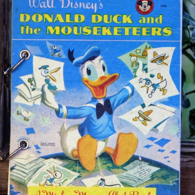 Donald Duck and the Mouseketeers Refillable Notebook Image