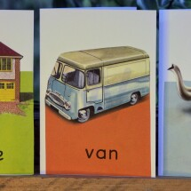 Upcycled Book Greeting Card Set - Ladybird - The ABC's