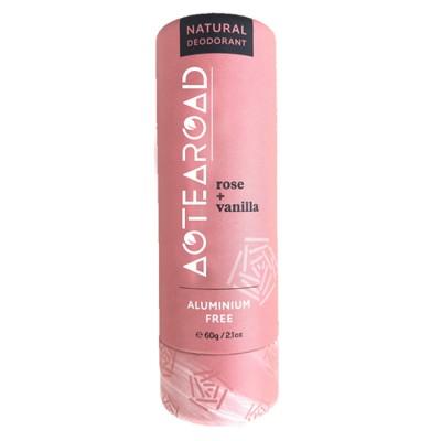 Aotearoad Natural Deodorant Stick Rose + Vanilla 60g Image