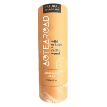 Aotearoad Natural Deo Stick Wild Orange + Cedar  60g