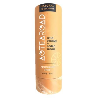 Aotearoad Natural Deo Stick Wild Orange + Cedar  60g Image