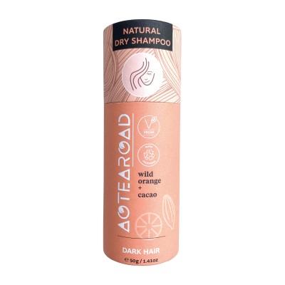 Aotearoad Natural Dry Shampoo for Dark Hair 50g Image