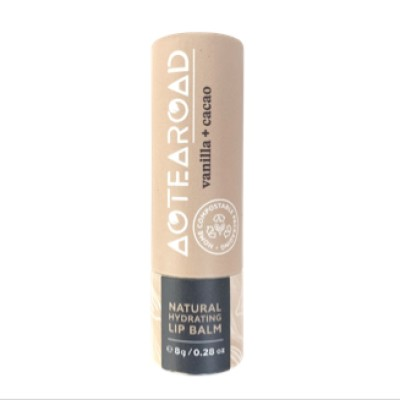 Aotearoad Organic Vanilla + Cacao Lip Balm 8g Image