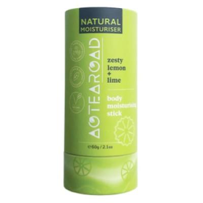 Aotearoad Body Moisturiser stick Lemon + Lime 60g Image