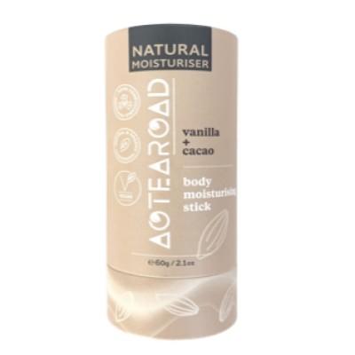 Aotearoad Body Moisturiser Vanilla + Cacao 60g Image