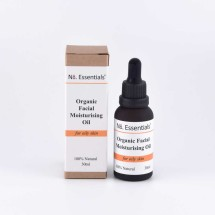 Moisturising Oil - Oily Skin - Organic   100% Natural Image