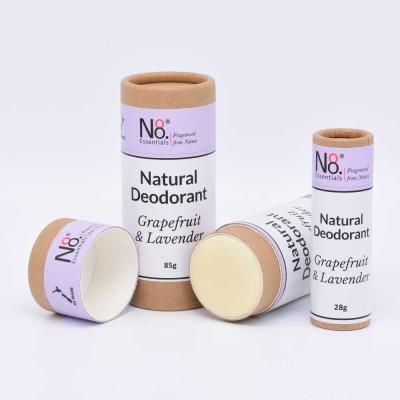 Natural Deodorant – Grapefruit & Lavender – Compostable Image