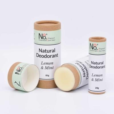 Natural Deodorant – Lemon & Mint – Compostable Image