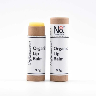Organic Lip Balm – Unflavoured – Compostable Tube Image