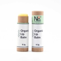 Organic Lip Balm - Apple - Compostable Tube Image