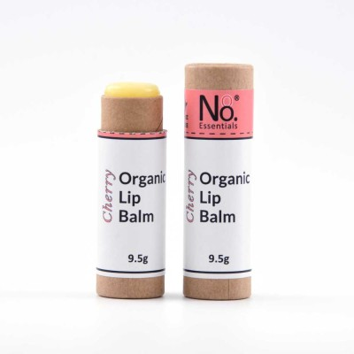 Organic Lip Balm – Cherry – Compostable Tube Image