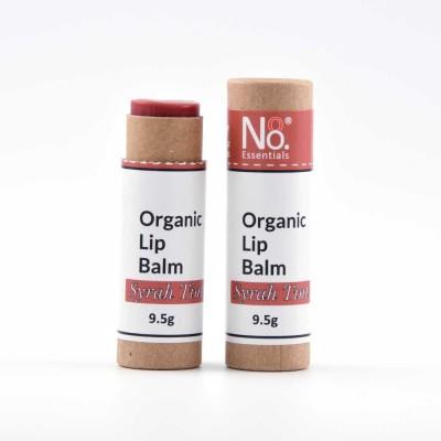 Organic Lip Balm – Syrah Tint – Compostable Tube Image