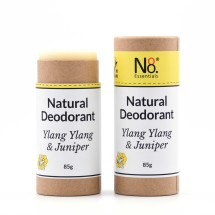 Natural Deodorant - Ylang Ylang & Juniper - Compostable Image