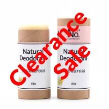 Natural Deodorant - Palmarosa - Compostable