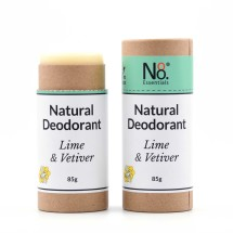 Natural Deodorant - Lime & Vetiver - Compostable Image
