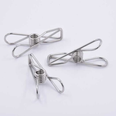 Clothes Pegs – 25x Marine Grade 316 Stainless Steel Image